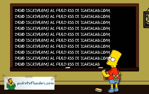 bart lavagna Generatore di scritte in stile Bart Simpson