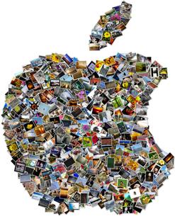 collage apple Shape Collage: creare foto mosaici in alta risoluzione in modo veloce e gratuito