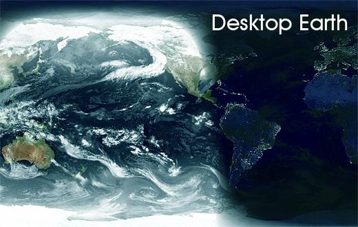 desktop earth Desktop Earth: Il mondo sul desktop