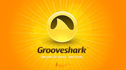 grooveshark Grooveshark: ascolta milioni di brani gratuiti in streaming dal web