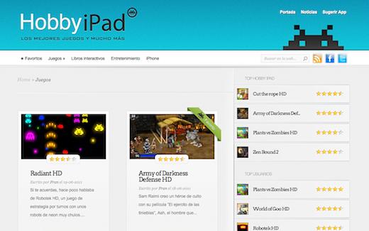 hobbyipad Hobby iPad: un sito con le migliori apps per iPad