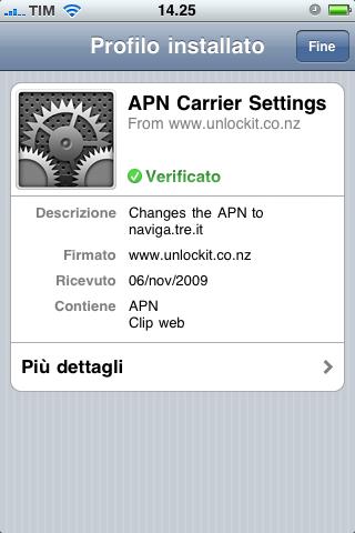 iphone3g apn h3g Tips & Tricks: modificare lAPN nascosto con H3g e Vodafone (iPhone 3G/3GS)