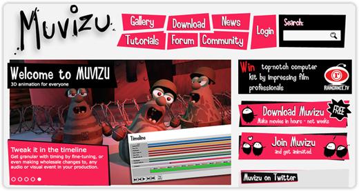 movizu Muvizu: animazione in 3D per tutti