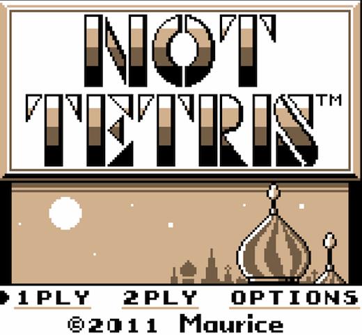 not tetris Not Tetris 2: il Tetris per anarchici