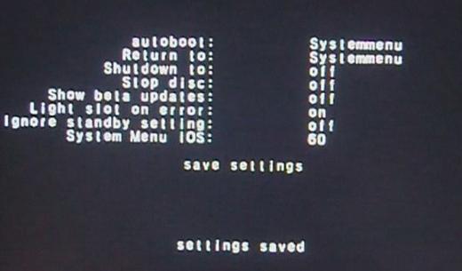 preloadersettaggi2 Nintendo Wii: avviare USB Loader allaccensione senza passare dal menu di sistema