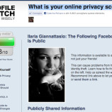 Profile Watch: verificare il proprio livello di Privacy su Facebook
