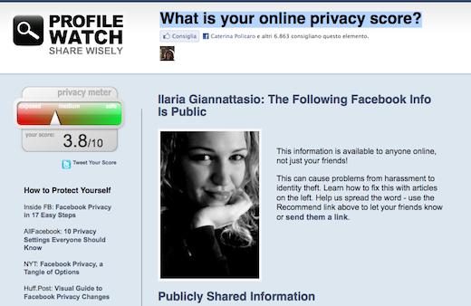 profile watch Profile Watch: verificare il proprio livello di Privacy su Facebook