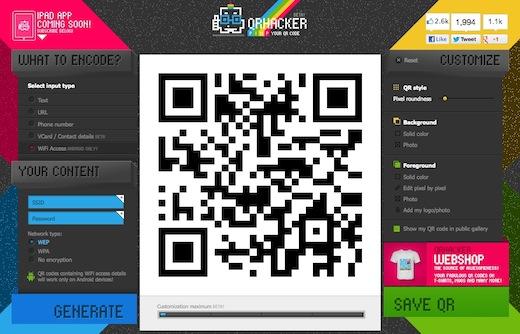 qrhacker QRhacker: creare codici QR colorati e personalizzati