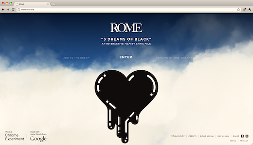 rome 3 Dreams of Black: e il sogno prende vita... nel browser!