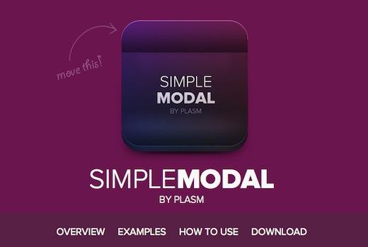 simplemodal Web Design: creare finestre modali con MooTools