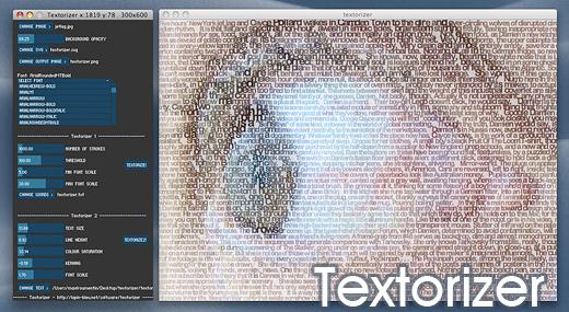 textorizer Textorizer: Trasforma le immagini in testo