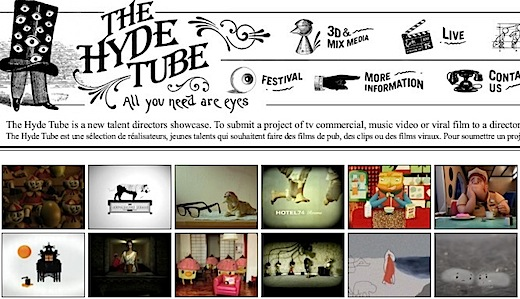 the hyde tube The Hyde Tube: il sito dei cortometraggi e dei video creativi